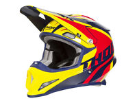New Adult 2018 Thor Sector Level Navy Yellow Helmet S M L XL Motocross Enduro