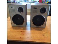 Vintage Yorx Retro Audio Speakers