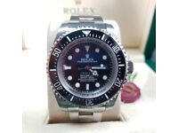 White's Watches - Rolex Sea Dweller With Silver Bracelet - Rolex Boxed And Paperwork Included