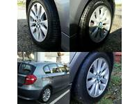 Genuine BMW alloys & tyres. 150ono