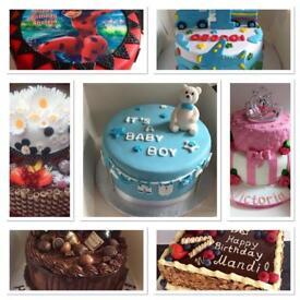 Homemade Cakes. Birthday Cakes. Cupcakes.