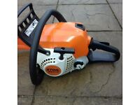 Chainsaw Stihl MS211C Petrol with 16inch Bar - Superb Condition