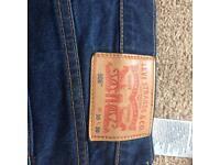 Levi jeans blue. 30w 30L