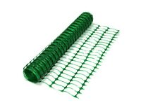 Plastic mesh barrier safety fence netting