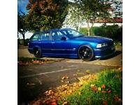 Bmw 3 series e36 touring wagon lpg converted low slammed drift stance 318