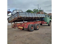 Left hand drive MAN 16.240 10 tyres 26 Ton tipper. Low miles.