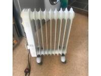 Oil filled radiator model cr404-9