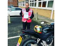 Motorcycle training gift voucher, cbt training, bike license test, direct access southport