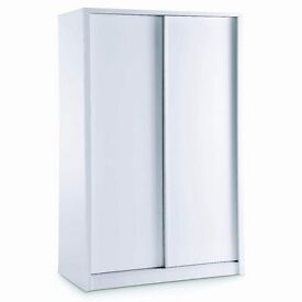 **100% GUARANTEED PRICE!**Brand New Carson Solid Wood Sliding Doors Wardrobe With Lockable Drawers