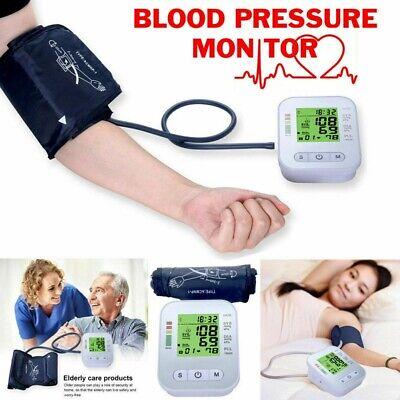 Tensiometro de Brazo LCD con Voz Medidor Presión Arterial Deteccion de Arritmias