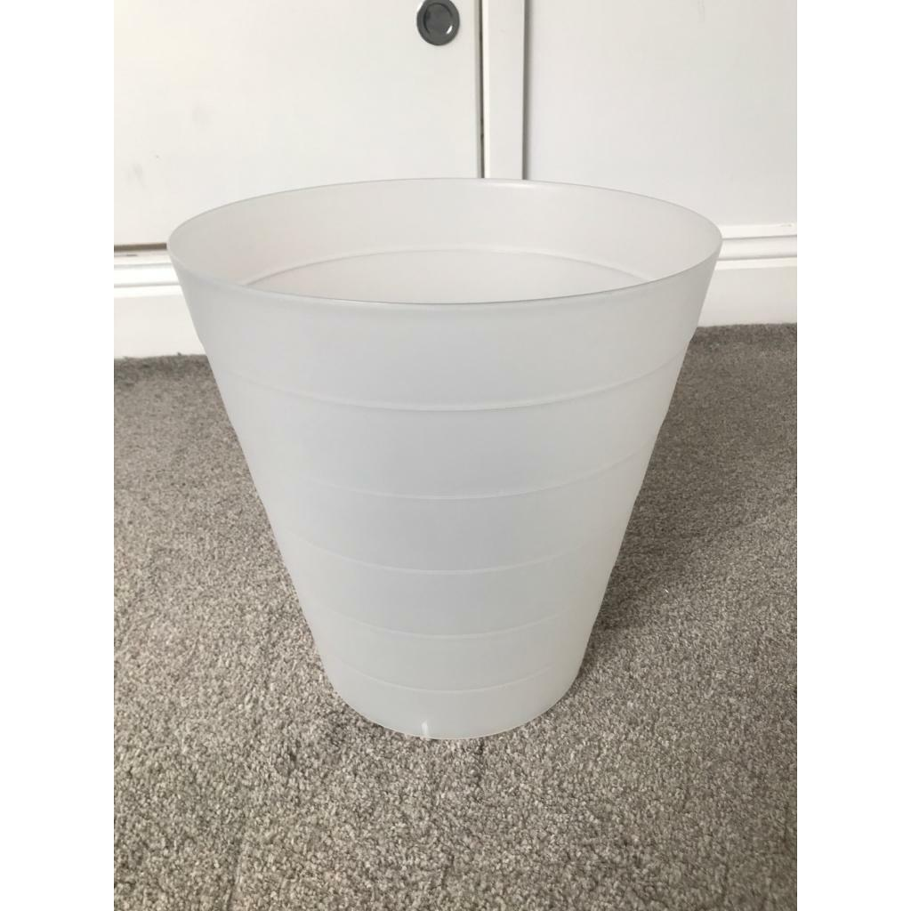 Frosted plastic Ikea bin | in Bournemouth, Dorset | Gumtree