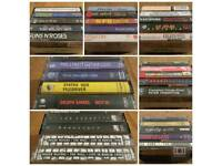 35 Heavy Metal Rock cassettes tapes