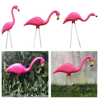 Realistic Large Pink Flamingo Garden Decoration Lawn Art Ornament Home Craft