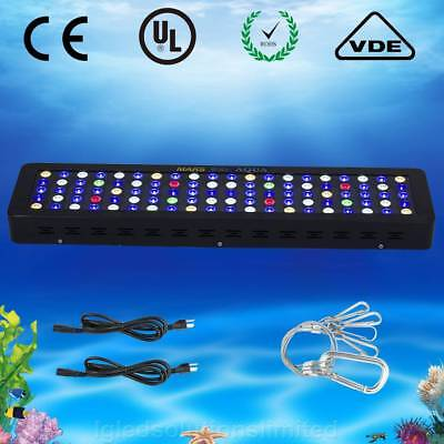300W LED Aquarium Light Dimmable Full Spectrum for Reef Coral Fresh Tank Marine