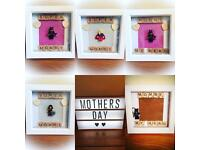 💞 Mother's Day Box Frames 💞