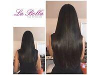 La Bella Nano Ring Hair Extensions Nottingham, East Midlands - Mobile hair extension technician