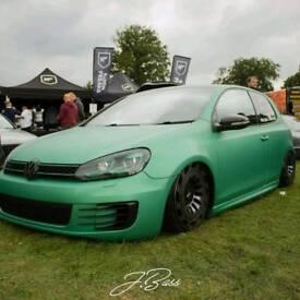 mk6 golf /airride / show car / vw