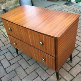 Vintage 1970's set of drawers. Please see other advert to buy matching set.