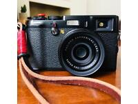 Fujifilm X100 black Limited Edition & Billingham Bag plus accessories