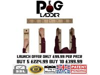 PEG-LADDER™ climbing systems launch sale