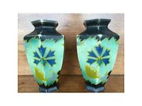 Pair of Brentleigh ware 374 collectible vases