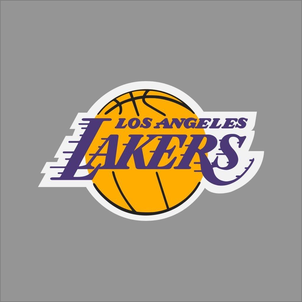 Los Angeles Lakers NBA Team Logo Vinyl Decal Sticker Car Window Wall ...