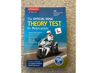 Motorcyclists DVSA theory test book