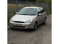 (CHEAP) Ford Focus Zetec 1.8 or px