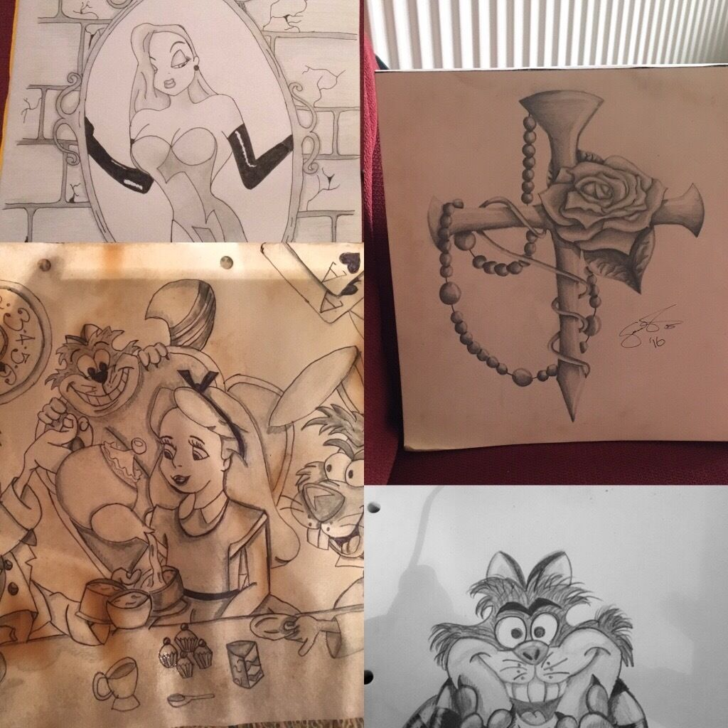 DRAWINGS AND TATTOO DESIGNS BY SIAN-REBECCA