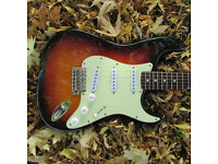 Fender 62 Reissue Stratocaster. Made in Japan 1992.