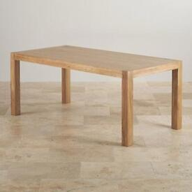 New oak table (delivery available)