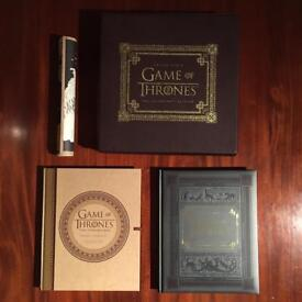 Game of Thrones Collectors Edition Inside HBO books maps