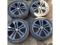Skoda fabia Monte Carlo alloys wheels