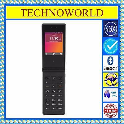 UNLOCKED TELSTRA ZTE T21+4GX+BIG BUTTON SENIORS FLIP PHONE+EXTERNAL ANTENNA PORT