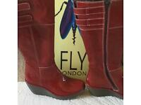 Fly gorgeous Red boots
