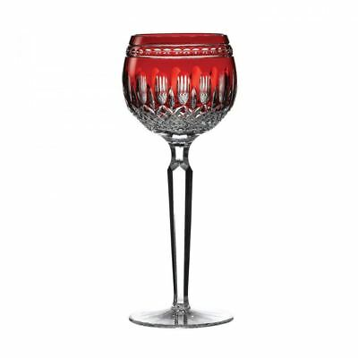 Waterford Crystal Clarendon Ruby Hock Glass (Pair) Clarendon Waterford Crystal