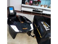 Toslon Xboat bait boat with Toslon TF640 GPS echo sounder factory built in brand new set.