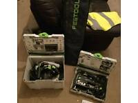 FESTOOL : Plunge Saw and Jigsaw