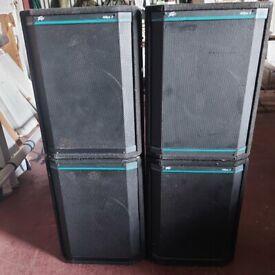 peavey hisys 2 big loud speakers