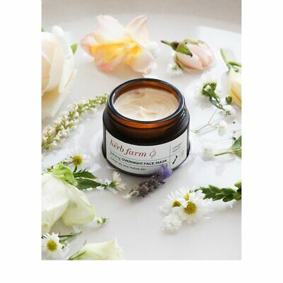 The Herb Farm 100% Natural Hydrating Overnight Face Mask 50m