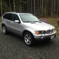 2000 BMW X5 for trade