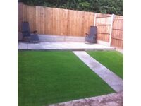 Landscapeing, bricklaying, plastering