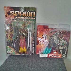 Brand new and sealed Mandarin Spawn figures