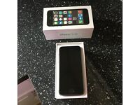 iPhone 5s on EE. Pristine condition. Only used with protection screens.