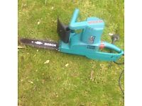 Electric Bosch Chainsaw
