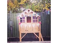 playhouse for sale!!! 4x4 playhouse great condition, selling due to moving. needs to be dismantled