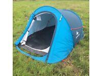 2 man tent - blue - pop up - Quechua (ref. 28)