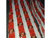 Lovely sunderland afc curtains excellent condition