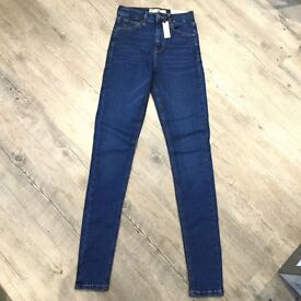 Topshop jeans size W26 Leg36 new with tags