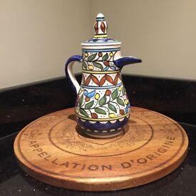 Traditional Israeli Coffee Pot Made In Bethlehem